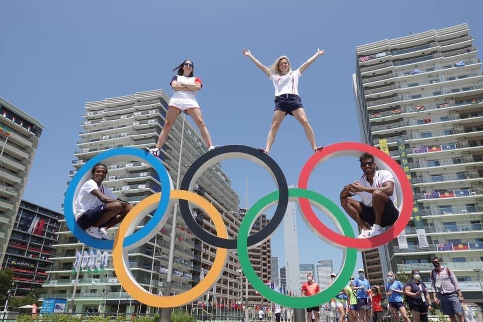 l'escalade Olympique